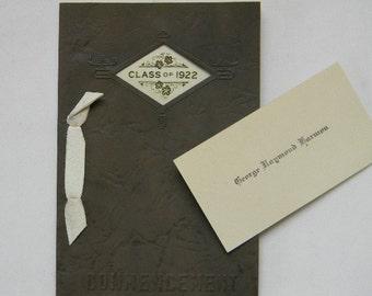 Class of 1922 Commencement Program, Jonesport High School, Maine