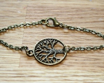 Tree of Life Bracelet bronzecolored - celtic nature special gift sister friend mother