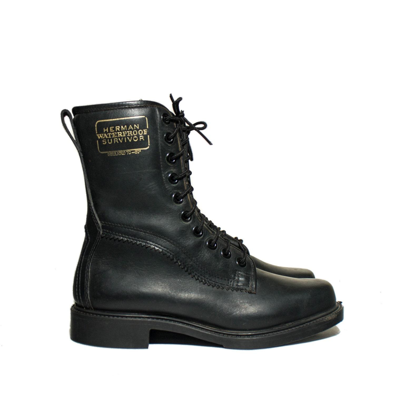 7 5 c vintage 60 s herman survivor boots waterproof