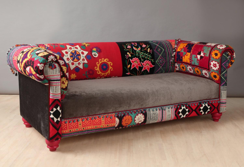 Bohemian Sofa By Namedesignstudio On Etsy