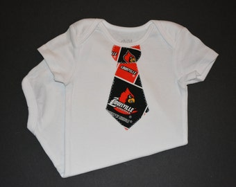 University of Louisville Cardinals Children's Tie Bodysuit or T-Shirt