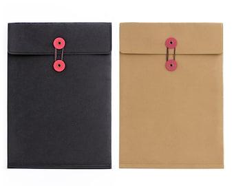 Large Washable Kraft Paper bag / File Folder Bag/ photograph packaging/A4 Kraft envelops