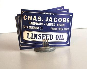Jar Labels, Bottle Labels, Ephemera, Authentic New Old Stock