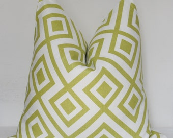Designer Pillow, Decorative Pillow, Throw Pillow, Toss Pillow, La Fiorentina, Groundworks, Lee Jofa, Lime, Home Furnishing, Home Decor