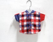newborn 90s children's KRISS kross SKATER hoodie KIDS plaid grunge shirt