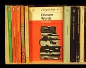 Set of 25 Illustrated Cover Vintage Penguin Paperbacks
