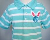Easter Bunny Shirt with Monogram