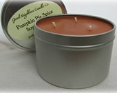 Soy Candle, Pumpkin Pie Spice, Three Wick 16 ounce tin, The comforts of Holiday Baking, Pumpkin Pie Spice