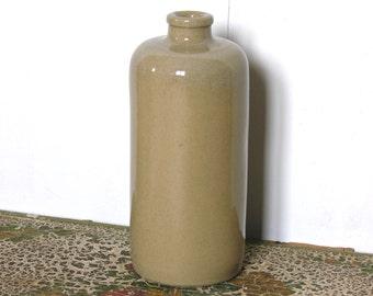 English Vintage Sandstone Bottle Stoneware  British Sandstone  Rustic Pearson of Chesterfield