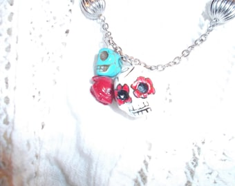 Skelly Necklace