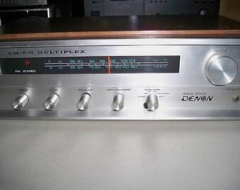 Vintage 1960's Denon Model MX-990B Multiplex Stereo Receiver