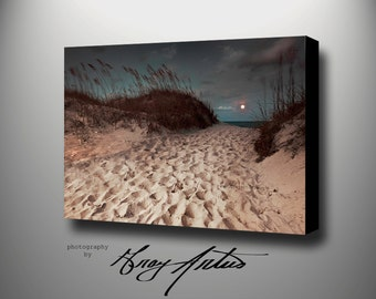 SEASCAPE WALL ART, Canvas Printed Photography Gallery Wrapped Stretched, Signed and Ready To Hang
