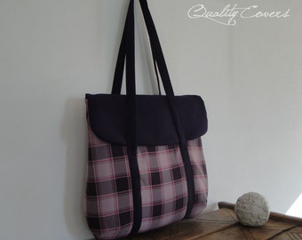 Customizable for Color Fabric and Size Laptop Bag Padded / Everyday Bag / unique women bag - 2 Straps - Padded - interior 7 Pockets