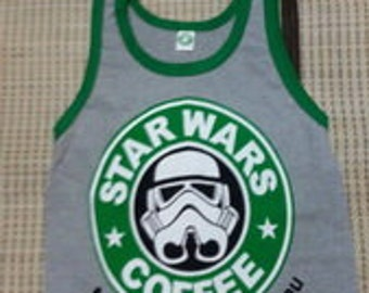 New arrived Star wars Thailand Tank Top Singlet Sleeveless T-Shirts crop/Punk Rock Vintage / Running Sport New arrived S/M/L/XL/2016/summer