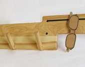 Allocator - Ash. Coat rack and All In One organizer.