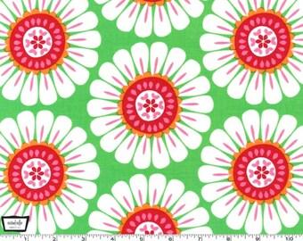 Courtney - Green Flower from Michael Miller