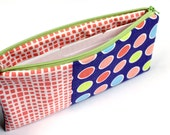 SALE - Cash Budget System - Zippered Pouch with 6 Dividers - READY to SHIP