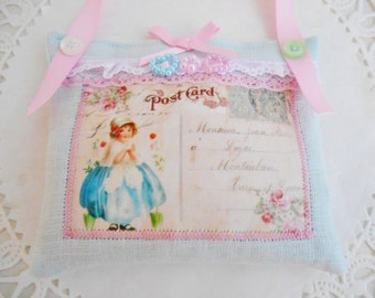 Cottage Chic Lavender Sachet
