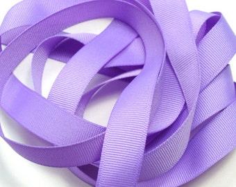 "5/8"" Grosgrain Ribbon - Orchid"