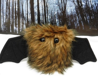 Smoulder The Scrappy Bat Stuffed Animal, Plush