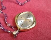 Pendant watch ENDURA Watch Vintage Swiss Made Pendant Watch Rare Beautiful Watch