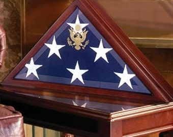 Folded Flag Display Case