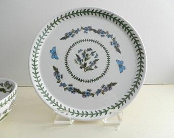 Vintage Portmeirion Botanic Garden Buffet Dinner Plate 10.5 inch speedwell veronica chamaedrys