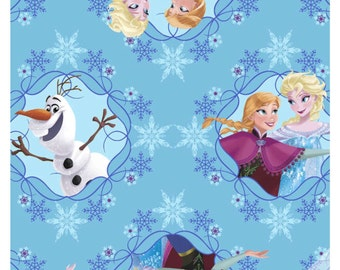 In Stock Disney Frozen cotton fabric  sisters ice skating collection from Springs fabric