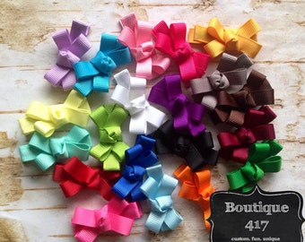 20 pc Itty Bitty Bow Clips
