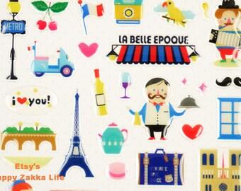 Bonjour Paris - Sonia Stickers - 3D Sticker - 1 Sheet