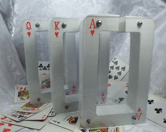 Moving Sale - Ace or King or Queen Playing Cards Wooden Bank