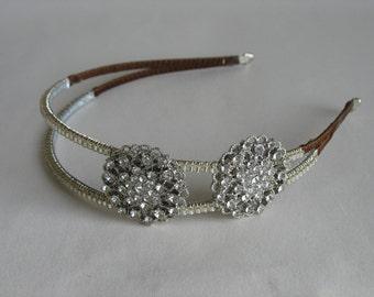 HALF PRICE Rhinestone headband. Wedding headpiece
