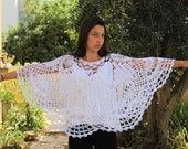 Crochet poncho pattern  Lacy poncho pattern  Bride wedding poncho cape pattern Wedding poncho shawl pattern Shawl poncho