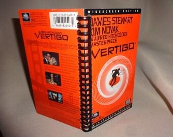 Vertigo VHS Notebook