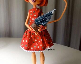 SALE Monster High Christmas dress