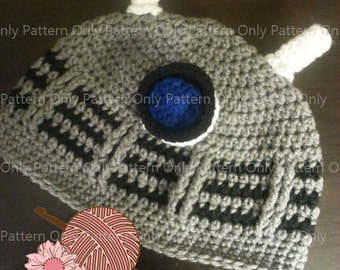 The Exterminator Hat Pattern - Pattern Only - Baby to Adult