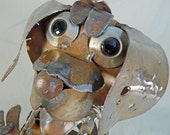 Scrapuppy - Recycled Steel Sculpture