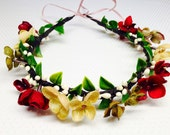 Wedding Flower crown floral crown