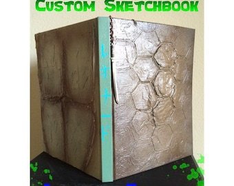 Custom Ninja Turtle Sketchbook