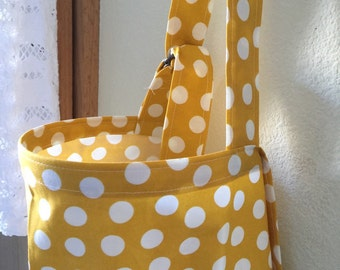 nursing Baby Breastfeeding nursing cover hider mustard dots style