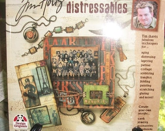 Jim Holtz Distressables Book