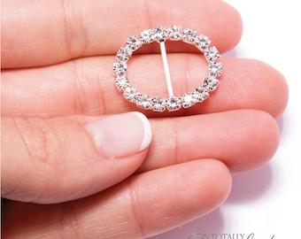 20pcs Invitation Buckles, Diamante DIY Crafts Rhinestone Wholesale Jewel Wedding Decoration Bridal Invitation Supplies, Buckle  103-S