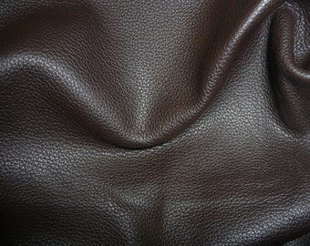 "Leather 20""x20"" Dark Brown BIKER Thick Cowhide 3.5 oz / 1.4mm PeggySueAlso™"