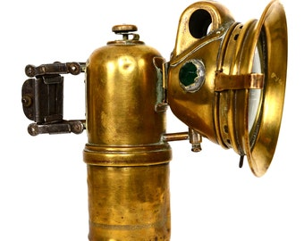 Vintage French Carbide LUXOR Brass Lantern Light