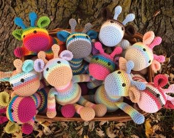 Crochet Giraffe Toy