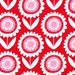 Fabric for quilt or craft Michael Miller Hello Sunshine in Red Half yard