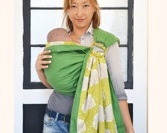 Baby Ring Sling. Baby Carrier Reversible  2 Lyrs of High Quality 100% Cotton Carrier. Sunny Babe Sling. Baby Carrier