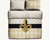 Popular items for fleur de lis bedding on etsy - Fleur de lis bed sheets ...