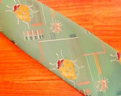 ladybug design tie early 1970s