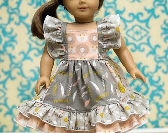 Nova's Square Flutter Top and Dress Doll Sizes PDF Pattern